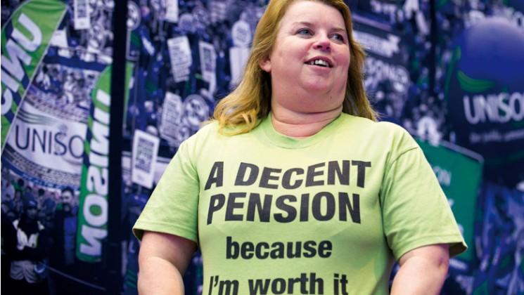 I deserve a decent pension. Credit: Marcus Rose