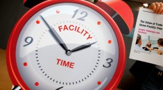 Facility time clock. Credit: Marcus Rose