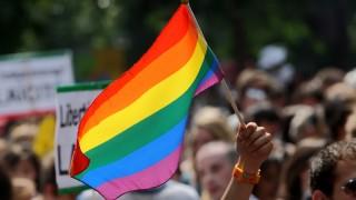 rainbow flag. Bigstock