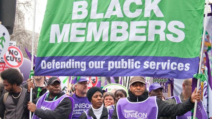 Black members banner