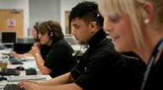 Call centre operators
