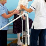 Physical therapy, nurses, Manor Hospital, Walsall