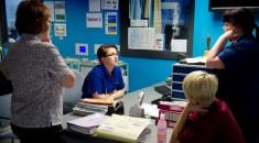 Ward nurses at Manor Hospital, Walsall