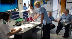 Ward nurses at Manor Hospital, Walsall