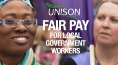 Fair pay for local government workers