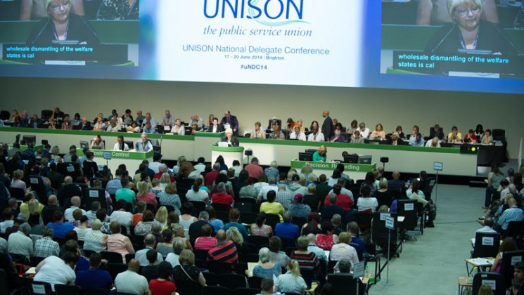 Conference debates the future of the NHS. Photo: Marcus Rose