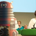 Speaker and Dalek - warning against exterminating the HSE. Photo: Steve Forrest / Workers' Photos