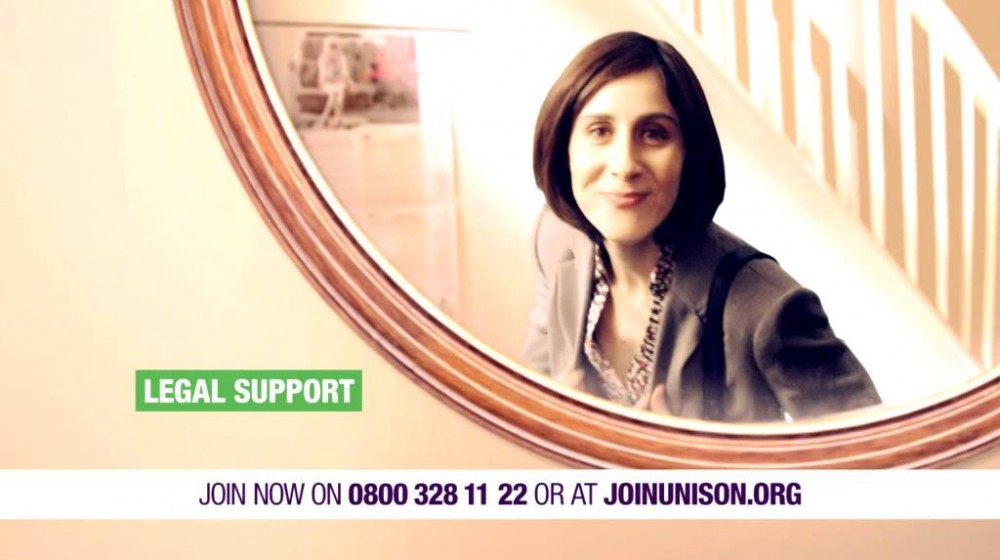 UNISON tv advert 2014