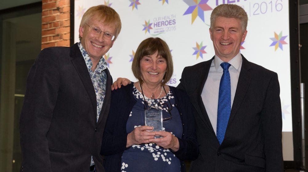 Winners of Health Heroes awards