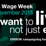 Living wage - Facebook cover