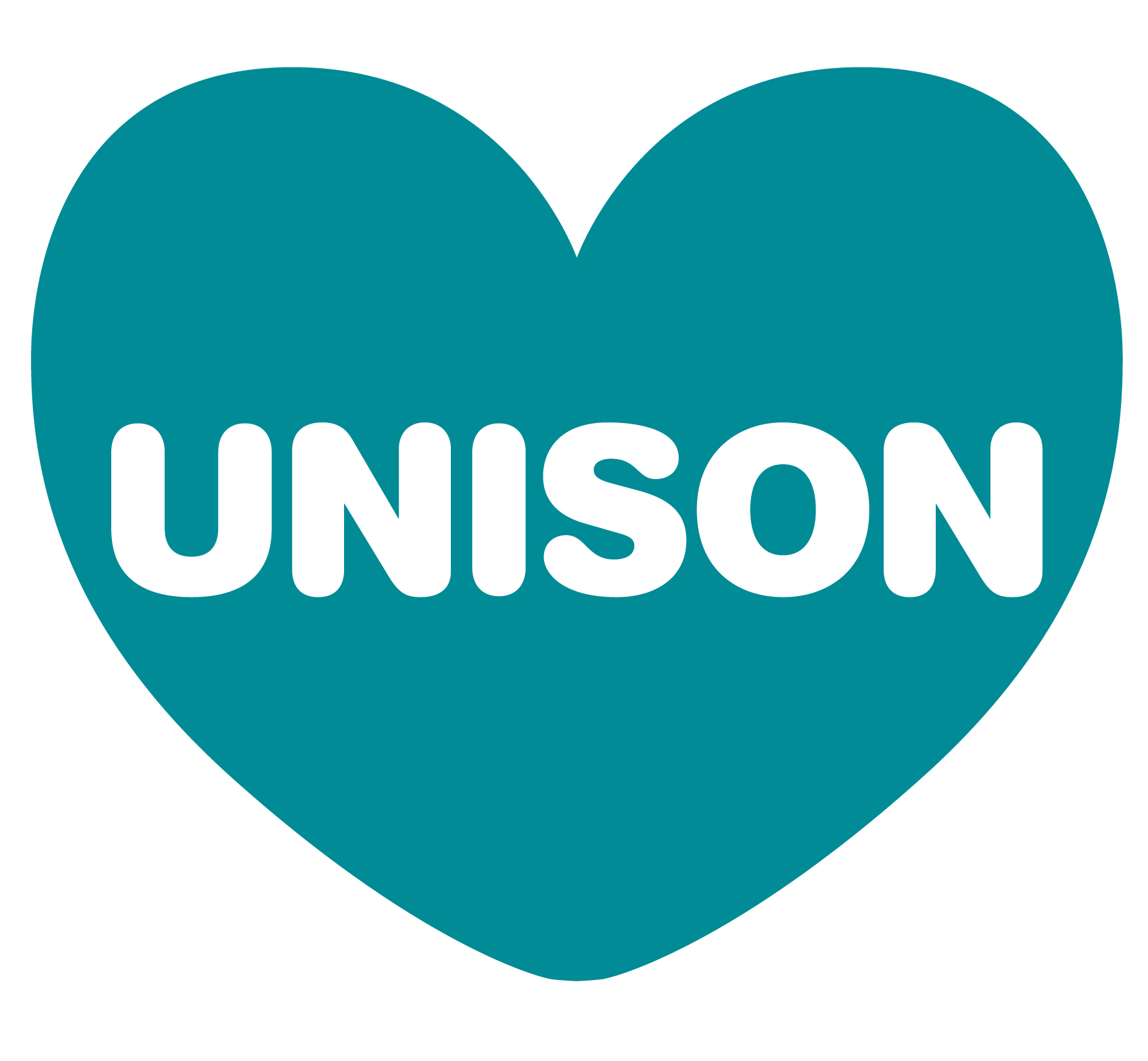 Heart Unison Logotype Contained