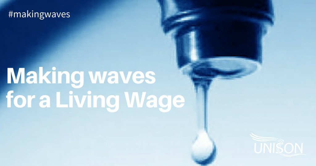 Making waves for a Living Wage