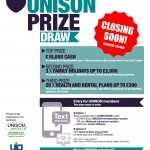 Prize Draw - Closing soon poster