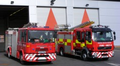 Tyne_and_Wear_Fire_and_Rescue_Service_appliances