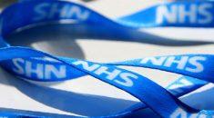 NHS lanyard
