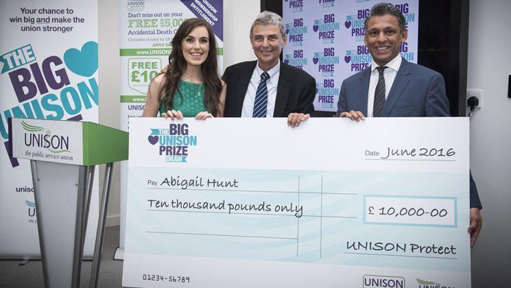 UNISON Prize Draw Awards Event
