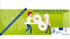 European health and safety week logo