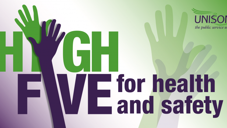 High five for health and safety