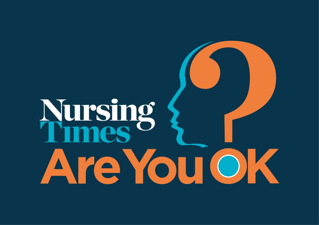 Nursing Time Are you OK logo