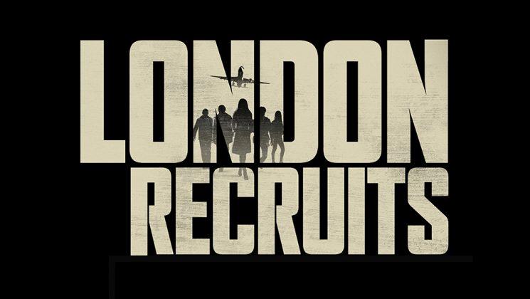London Recruits logo on black