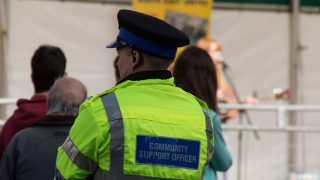 Back of a PCSO