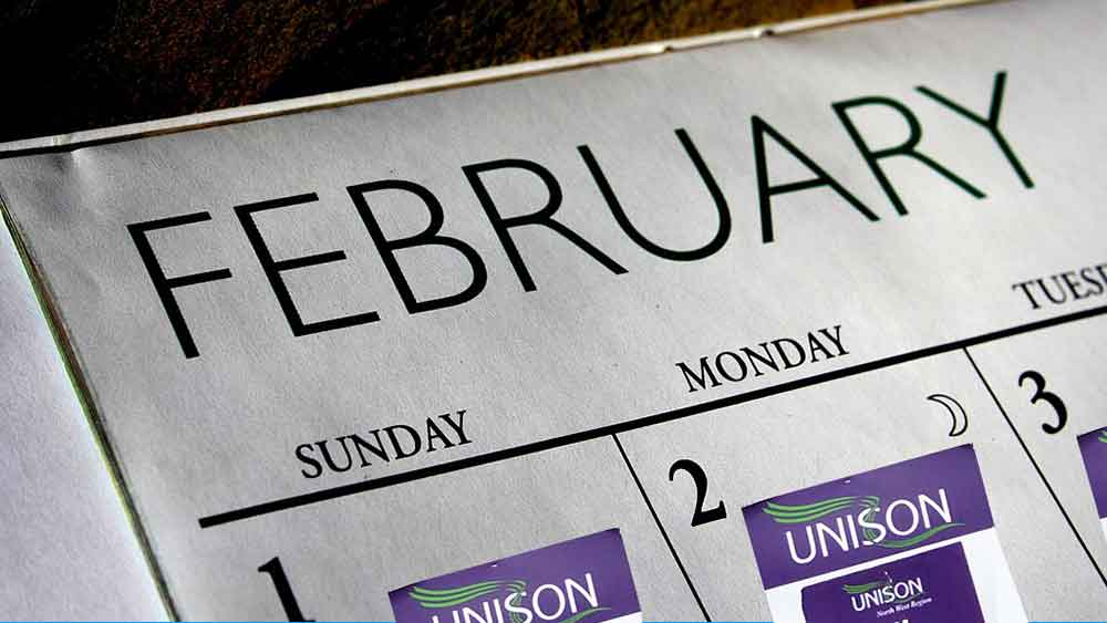 Packing a punch, in the shortest month | Article, News | News | UNISON National