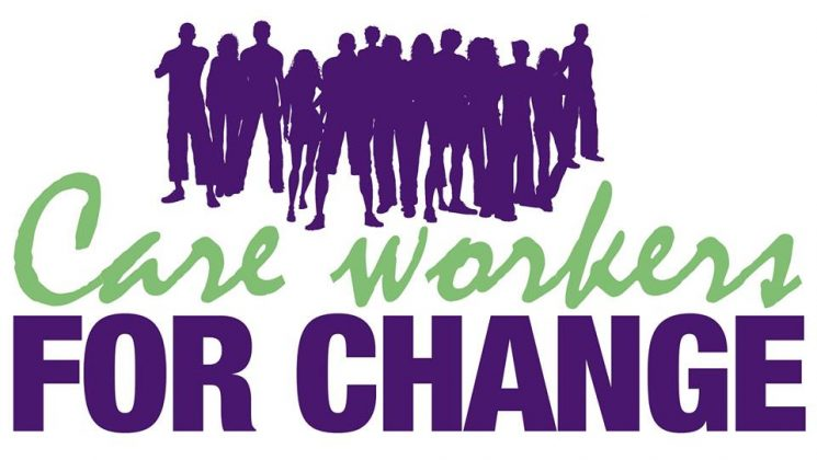 Care workers for change logo