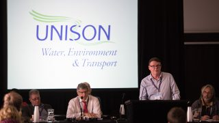 photograph of WET conference in session
