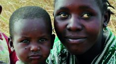 Malawian mother and baby