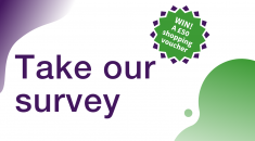 Take our survey and win and £50 vouchers