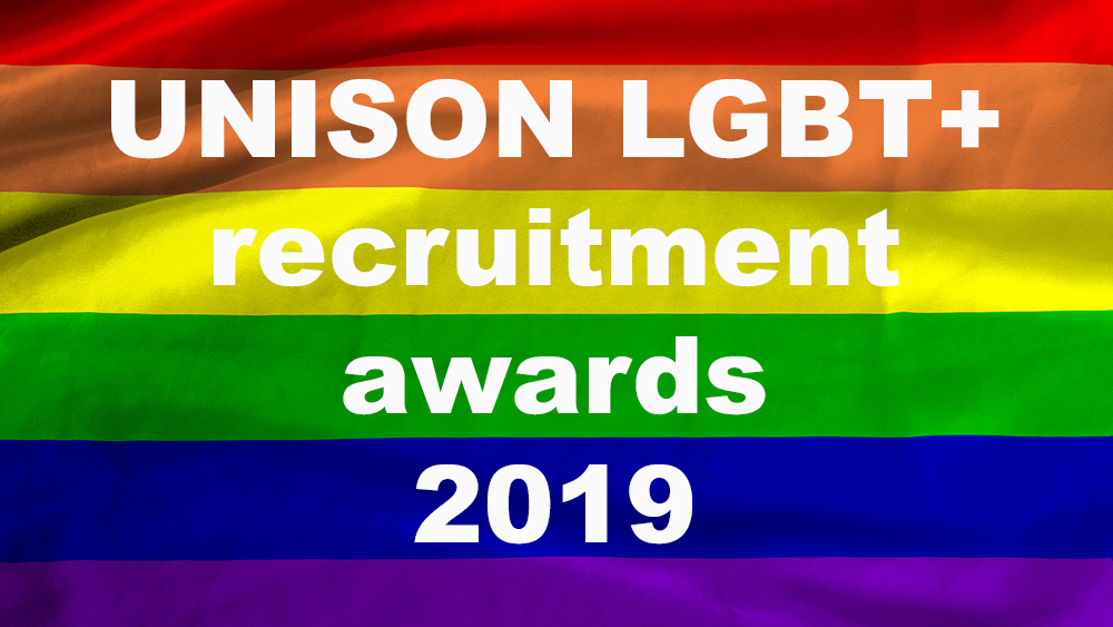 Time to be inspired by our LGBT+ award winners