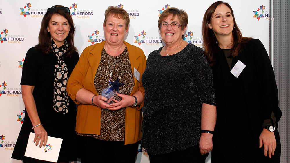 UNISON member wins top health heroes award