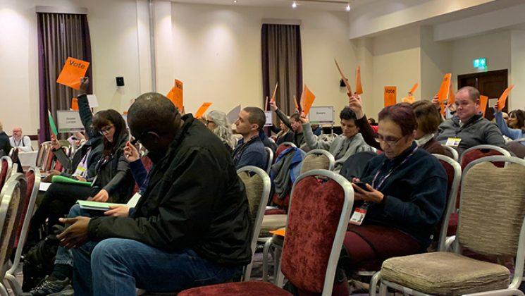 higher education delegagtes voting
