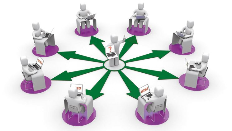 Representation of people learning remotely