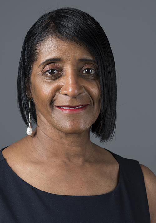 Portrait of Carol Sewell, NEC member