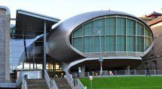 External shoot of buildings at Napier University