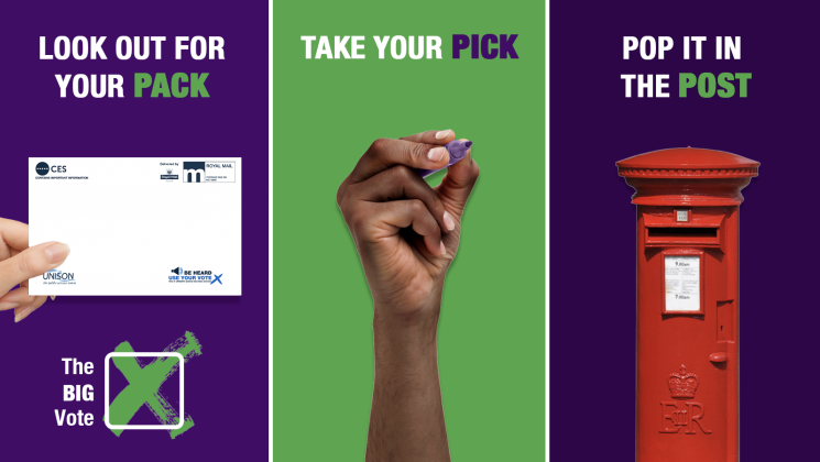 It's time for The Big Vote. Look out for your pack, take your pick, pop it in the post.
