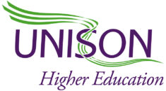 UNISON higher education logo
