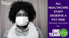 One Team NHS Us2 campaign graphic