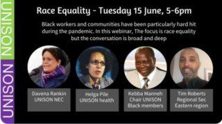 Head shots of speakers to the Fringe: Davena Rankin, Helga Pile, Kebba Maneh and Tim Roberts
