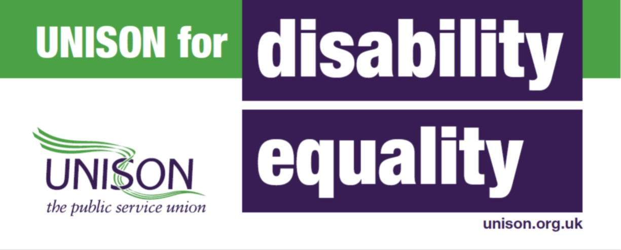 Logo - UNISON for disability equality