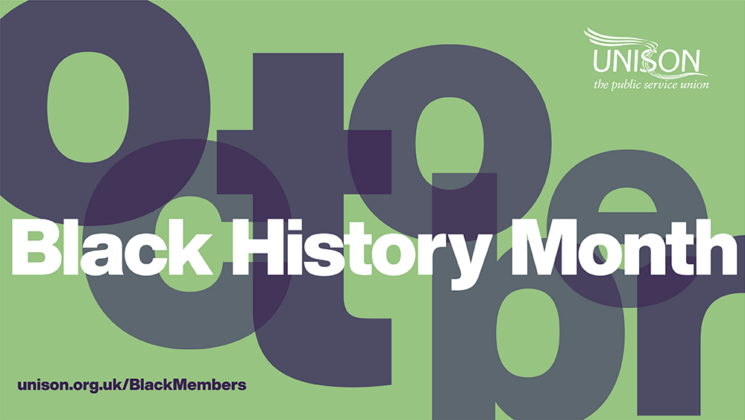 Black History Month header