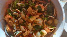 A picture of the dish Goan Cataplana